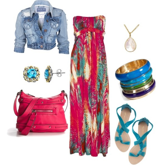 """""""Colorful"""" by deborah-simmons on Polyvore"""