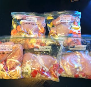"""20 Servings of healthy """"clean"""" meals for under $25.00!"""