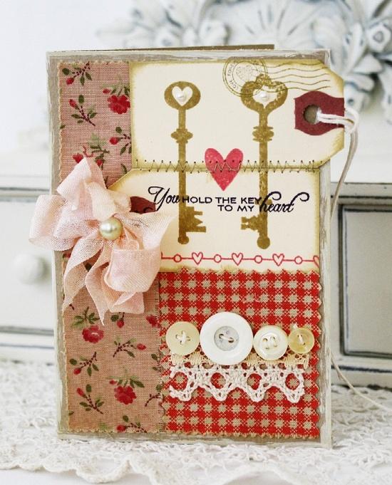 Key to My Heart...Handmade Card