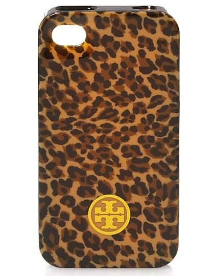 Tory Burch Leopard iPhone Case