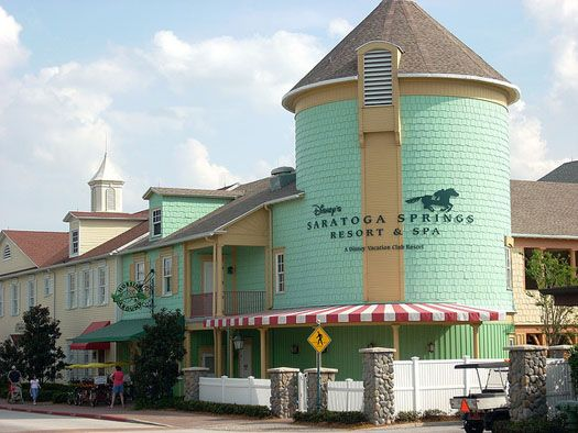 Saratoga Springs Resort - Disney World...Summer 2012...Great resort with 3 pools and convenient to Downtown Disney.