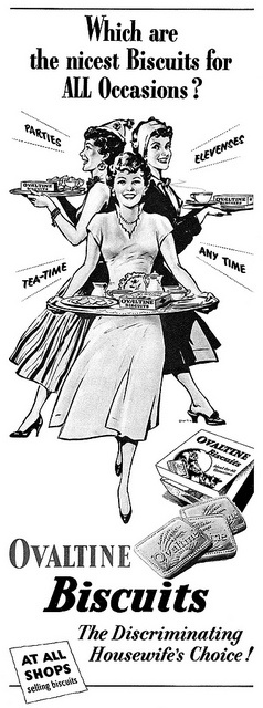 Which are the nicest biscuits (for) all occasions? #vintage #ad #food #1950s #biscuits #UK
