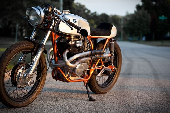 Honda CL360 Cafe Racer