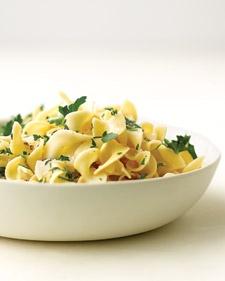 Hubby ? Egg Noodles - Herbed Egg Noodles