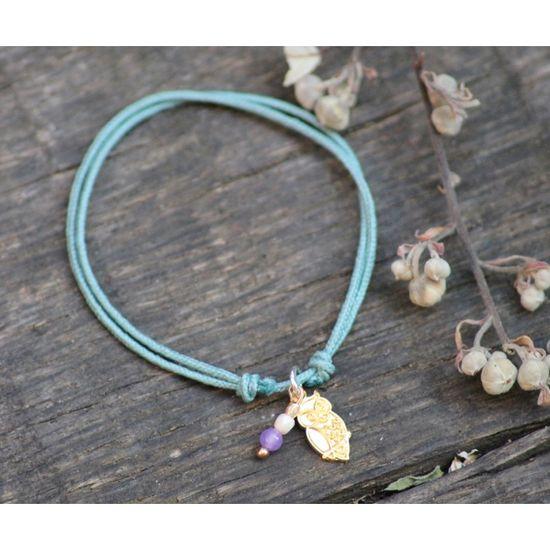 Bracelet Best Friend Hibou - boutiquedelagirafe