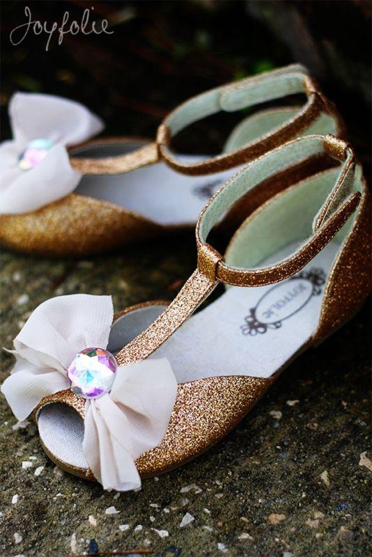 Joyfolie - Ciara Girl Shoe in Gold