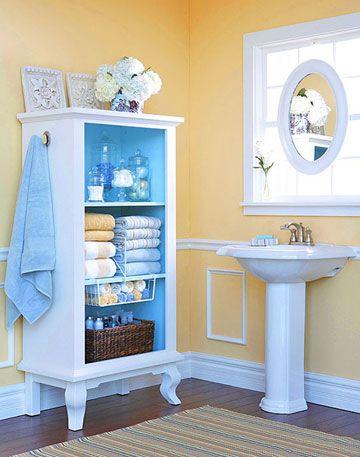 DIY Bathroom Armoire