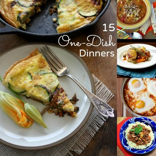 15 Delicious One-Dish Simple Dinner Ideas