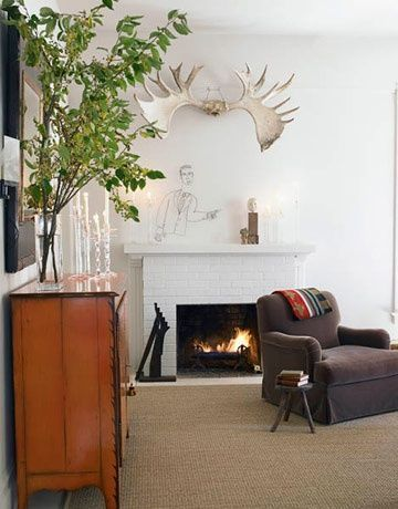 Black and White Designs - California Home - Interior Decorating Ideas -
