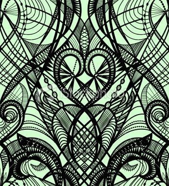 Tattoo pattern Royalty Free Stock Vector Art Illustration