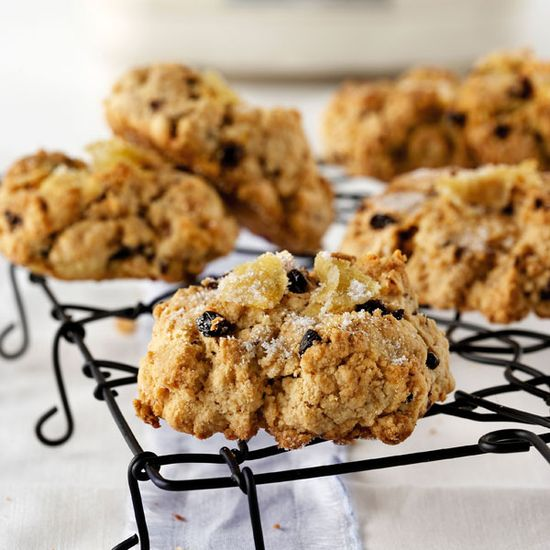 Sugar Crusted Rock Cakes