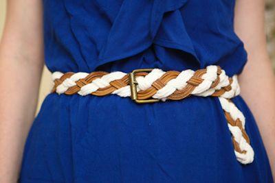 braided belt tutorial