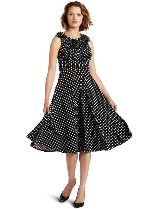 polka dot-polka dot dress-polka dot design-dresses