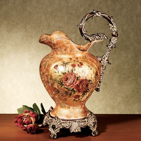 Madelyn Rose Decorative Pitcher Vase