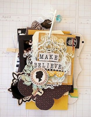 Crate Paper Portrait - Mini by Tara Anderson