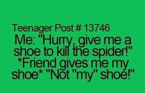 Not my shoe