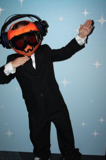 Funny Kids Halloween Costumes: Daft Pumpkin