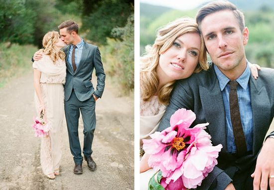 Wedding Ideas - Handmade Californian Wedding