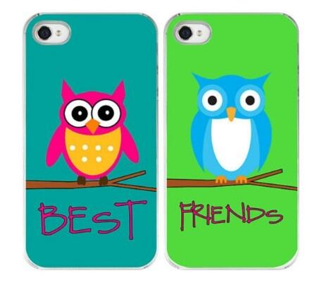 Best friend owl iPhone case