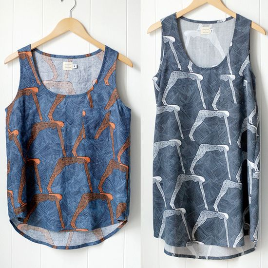 Tank Sewing Pattern-Wiksten  Pricey but look good