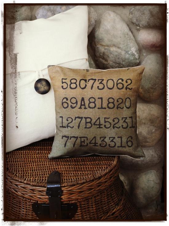 Custom Pillow - Greyhound Pillow - Greyhound Tattoos - Greyhound - Personalized - Mothers Day. $60.00, via Etsy.
