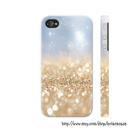 Glitter iPhone 4 Case  iPhone 4s Case  iPhone 5 by IsolateCase, $24.00
