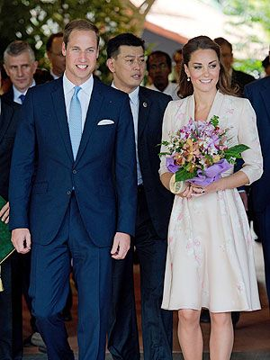 Prince William and Kate Arrive in Singapore - The British Royals, The Royals, Kate Middleton, Prince William, Princess Diana : People.com