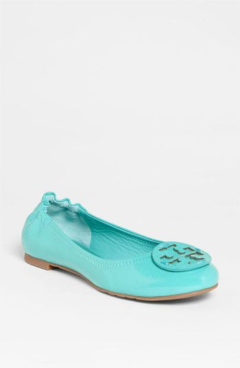 Tory Burch Reva flat in Tiffany blue...I think I need to get these ASAP!!!!