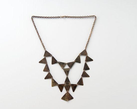 El Condor Triangle Necklace by Julie Nolan