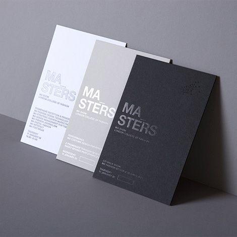 Graphic Design by Daniel Freytag. Beautiful single color graphic design using hot foil.Subtle and elegant.