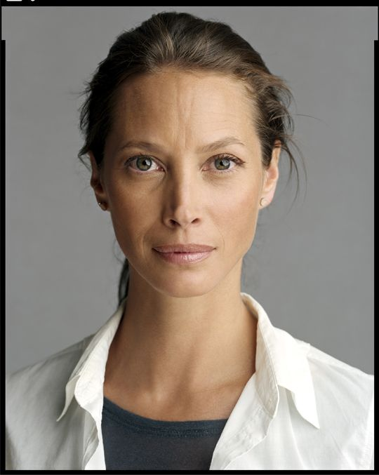Real beauty with lines, wrinkles and no botox... what real looks like...Christy Turlington