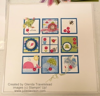 Stampin Up! Collage by Glenda T