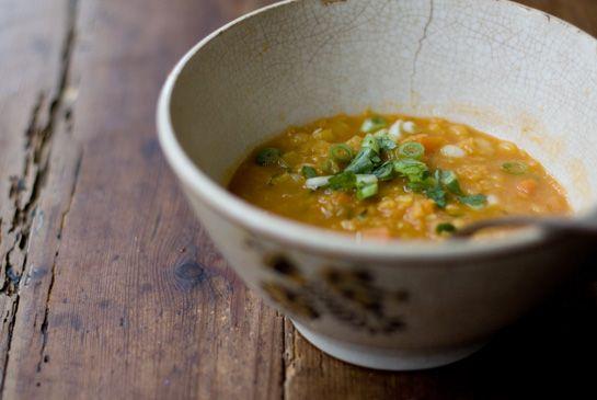 coconut lentil soup..use a dairy sub butter.