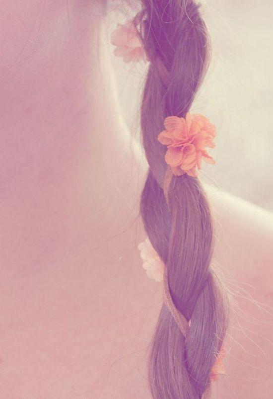 Braided flowers