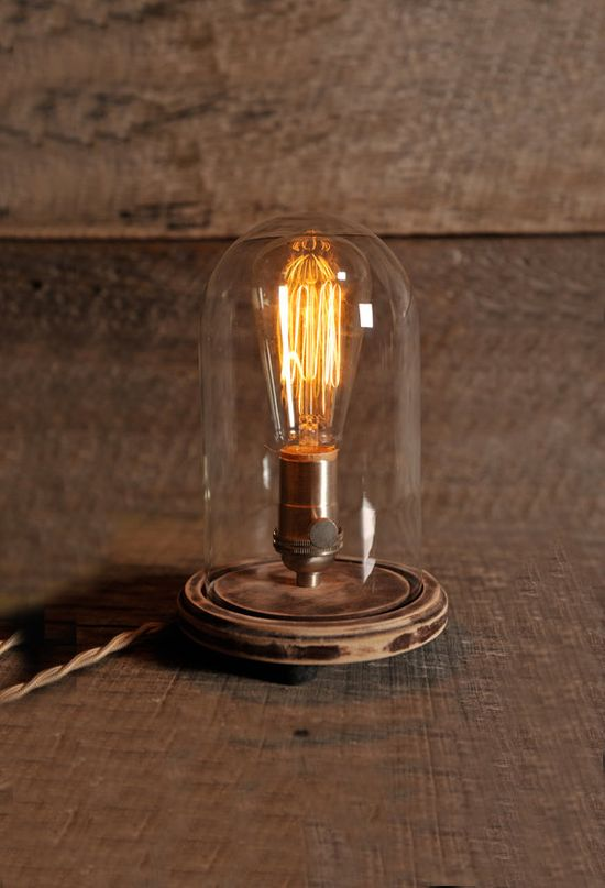 Lampe cloche - SouthernLightsTN - Etsy