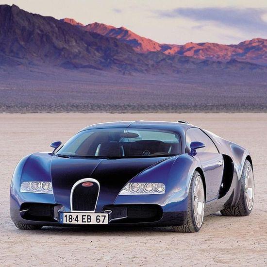 Bugatti Veyron - Desert Drive