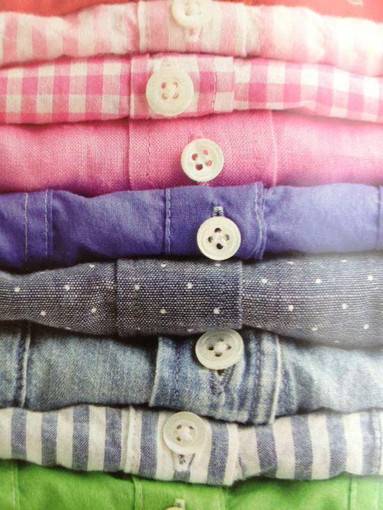 jcrew women's woven shirts.  #jcrew #gingham #chambray