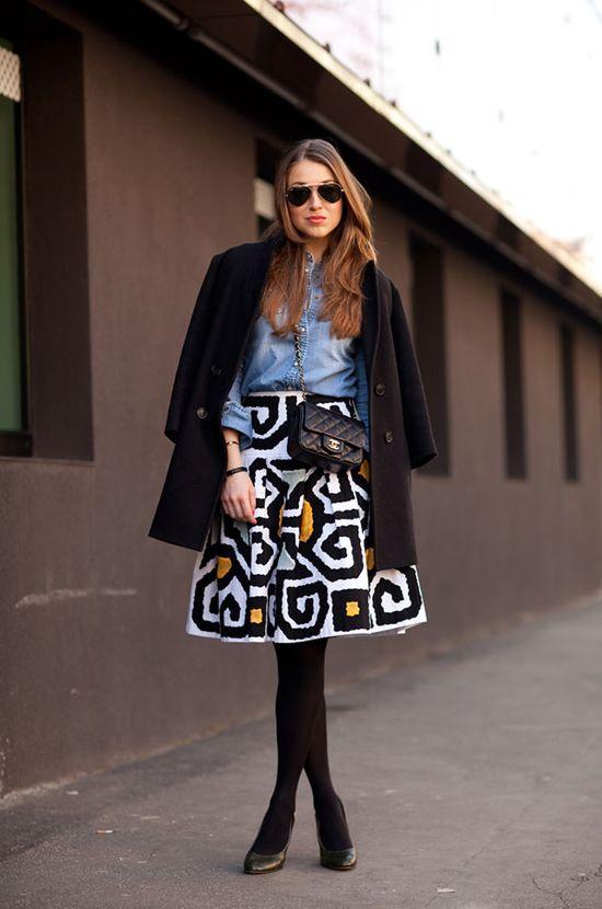 Street Style - Milan Fashion Week Fall 2012