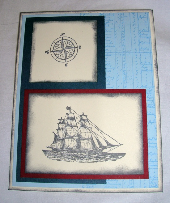 The Open Sea, Stampin' Up!