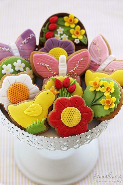 Spring cookies....