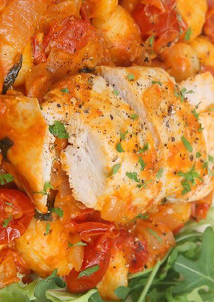 Easy Italian Chicken Casserole. For the drunk chicken recipe: www.venice-italy-...