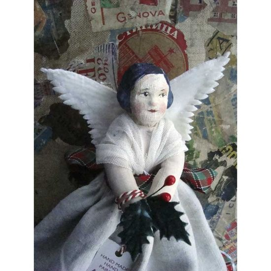 Hand Made Angel Doll by Claire Fletcher