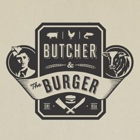 butcher & the burger logo