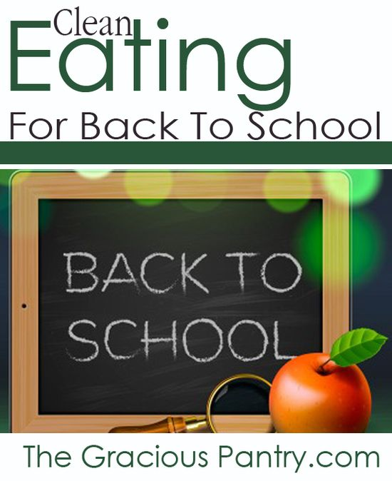 Clean eating lunches, tips, printables and more! (More coming the whole month of August!) #cleaneating #eatclean #cleaneatingrecipes #backtoschool