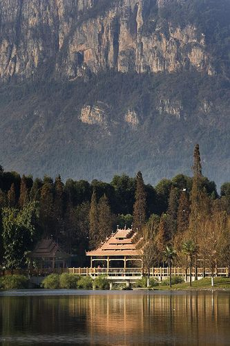 Scenic view on southwest edge of Kunming, China