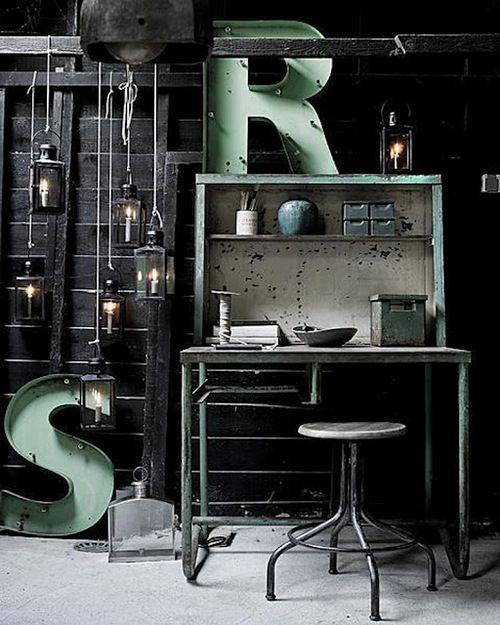 vintage industrial stuff