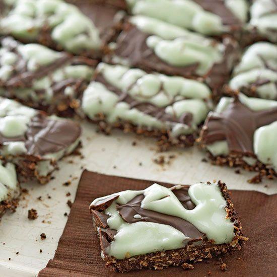 Dark Chocolate-Mint Bites