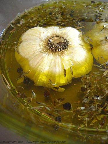 Make your own garlic oil