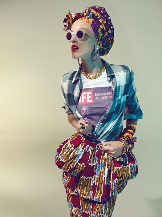 Stella Jean: Wax and Stripes Philosophy