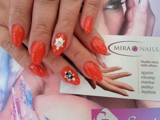 mira nails ^_^ by ardea_dea - Nail Art Gallery nailartgallery.na... by Nails Magazine www.nailsmag.com #nailart